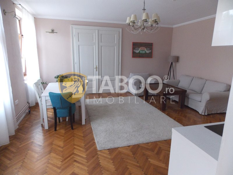 Apartament modern 3 camere de inchiriat in Sibiu zona Sub Arini 1