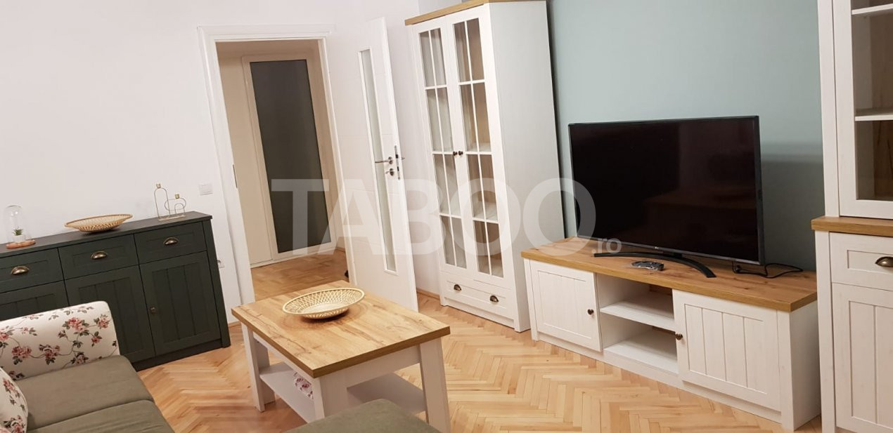Apartament 3 camere 2 bai si balcon de inchiriat in Sibiu Turnisor 2