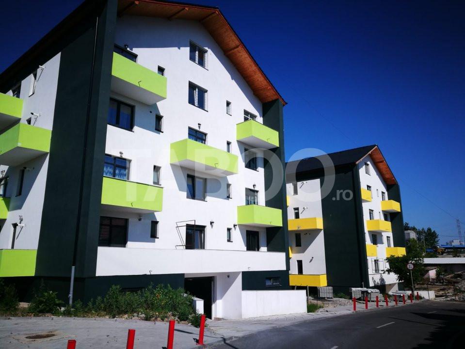 Apartament 2 camere de vanzare 51 mp etaj intermediar 1 Turnisor Sibiu 1