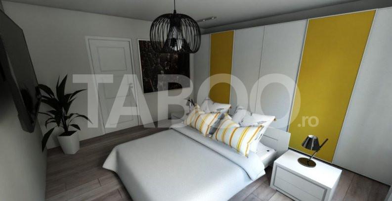 Apartament 3 camere de vanzare 67 mpu in zona de Vest a orasului Sibiu 1