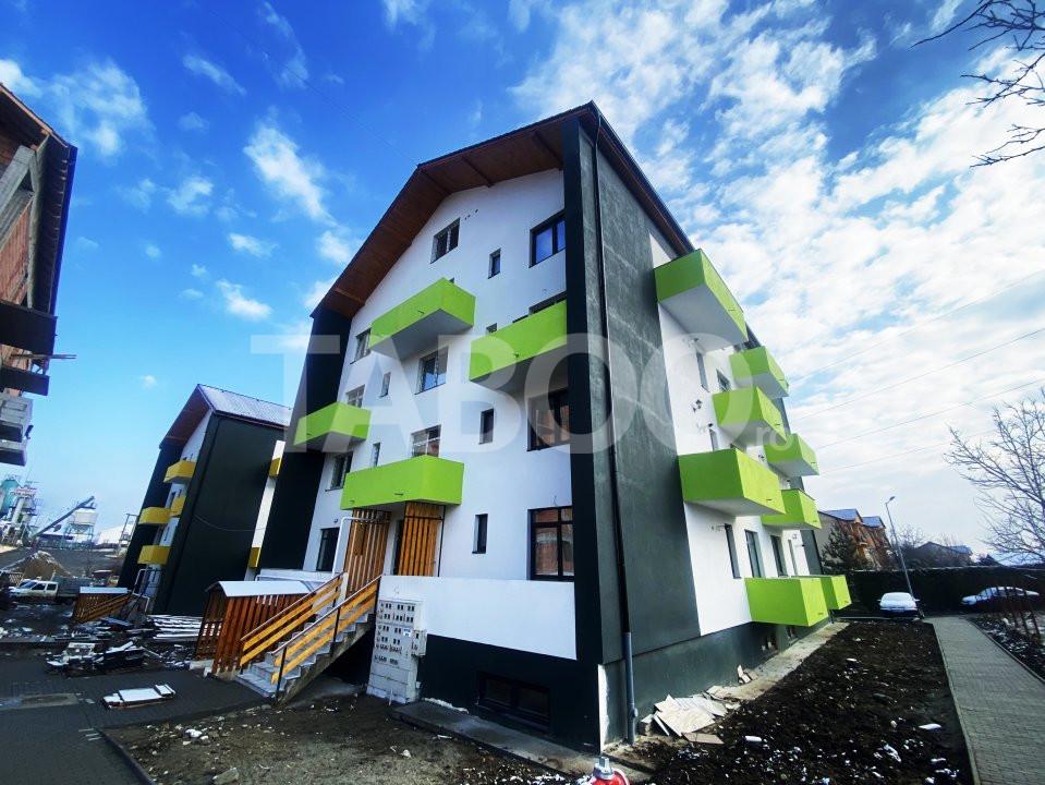 Apartament de vanzare 3 camere 67 mp utili 2 balcoane Turnisor Sibiu 1