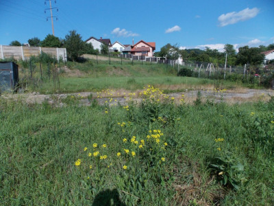 Teren intravilan 500 mp de vanzare in Sibiu Gusterita PUZ aprobat