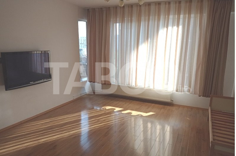 Apartament 2 camere decomandate 59 mp utili Sibiu zona Vasile Aaron 1