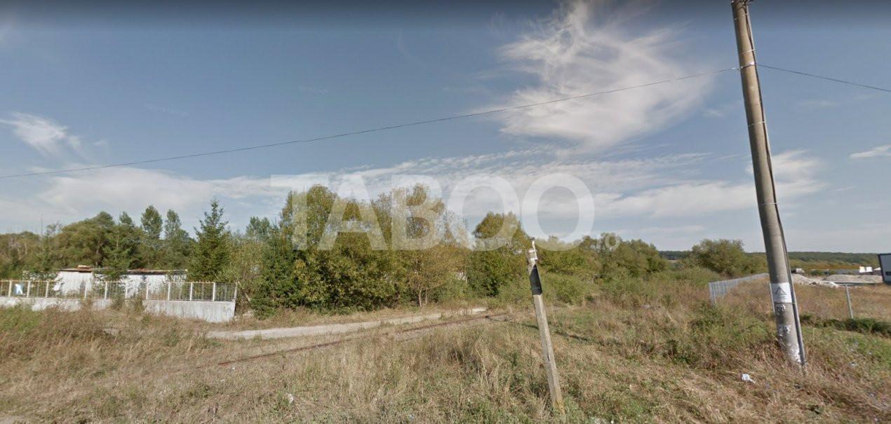 Teren de vanzare 1000 mp Sibiu zona Cisnadie langa DN 1