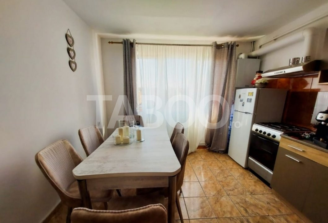 Apartament 2 camere de vanzare 54 mp in Sibiu zona Terezian 1