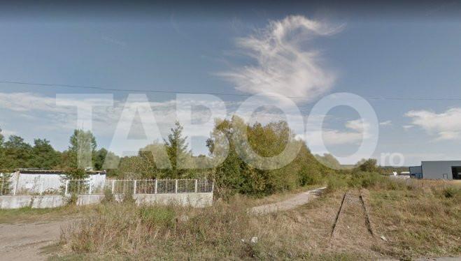 Teren de vanzare 2000 mp pretabil pentru constructie in Cisnadie 1