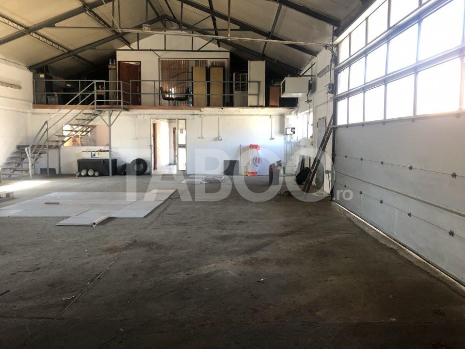Spatiu industrial 250 mp utili si 700 mp teren in Sibiu zona Turnisor 1