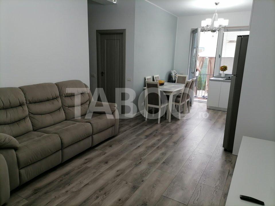 Apartament decomandat de vanzare 40 mp curte si loc de parcare Sibiu 7