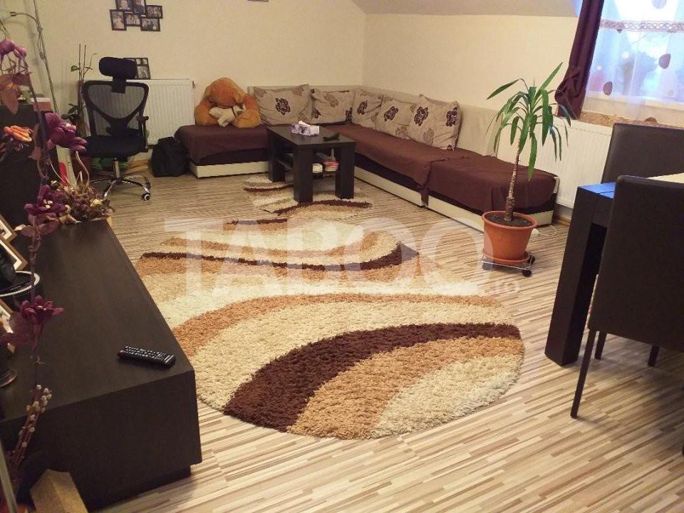 Apartament decomandat 2 camere 58 mp utili Sibiu zona Promenada Mall 2