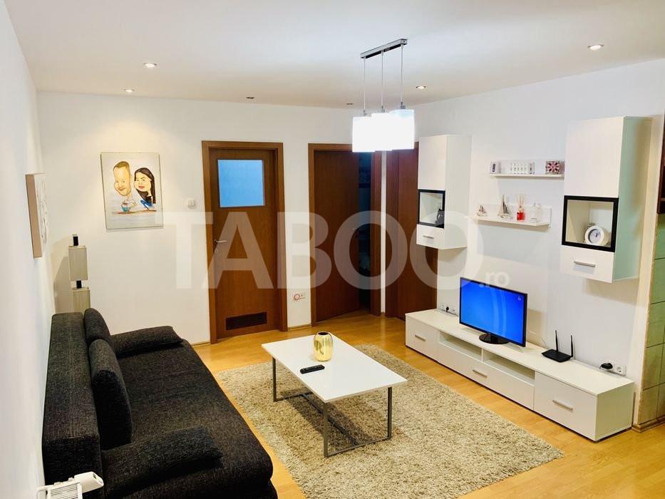 Apartament de vanzare 2 camere 60 mp utili in Sibiu zona Rahovei 3