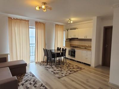 Apartament de inchiriat etaj 3 mobilat modern in Sibiu zona Magnolia