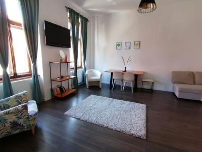 De inchiriat apartament 2 camere cu terasa Orasul de Jos Sibiu