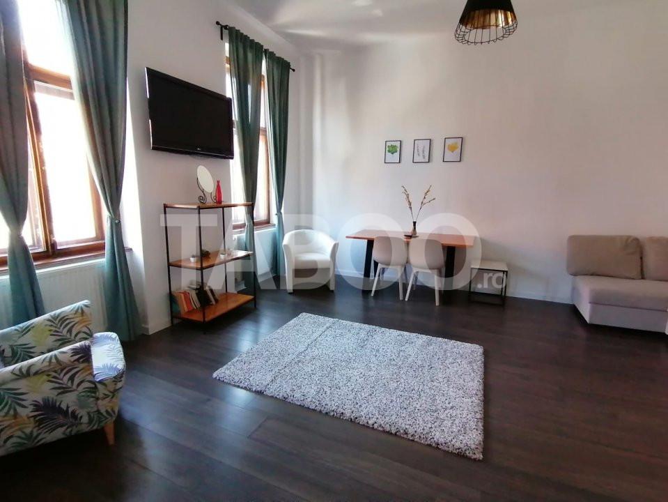 De inchiriat apartament 2 camere cu terasa Orasul de Jos Sibiu 1
