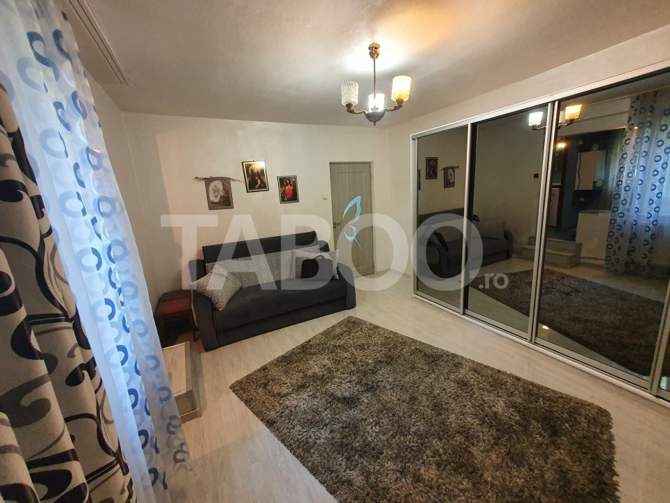 Apartament recent renovat de inchiriat 2 camere in Sibiu Mihai Viteazu 1