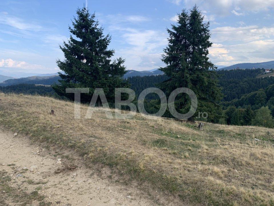 De vanzare teren in Paltinis de 1800 mp judetul Sibiu 1