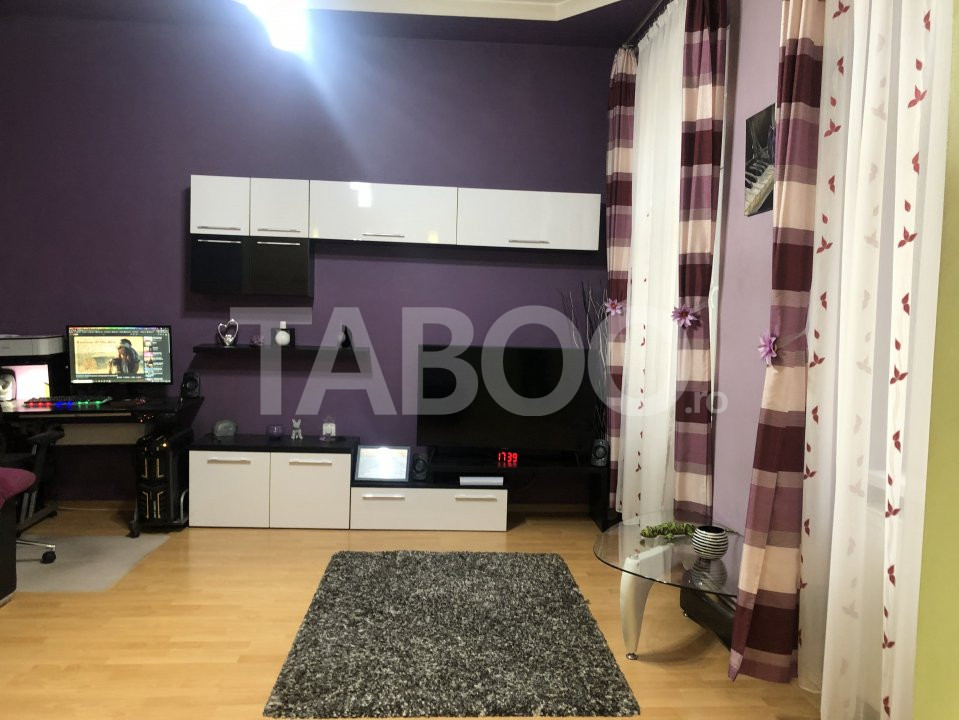 Apartament mobilat 2 camere de vanzare in Sibiu zona Centrul Istoric 1