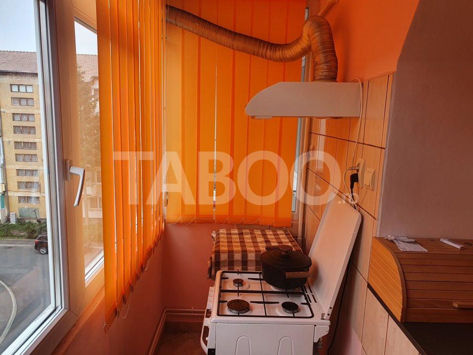 Apartament de inchiriat 2 camere 2 balcoane zona Mihai Viteazu Sibiu 9