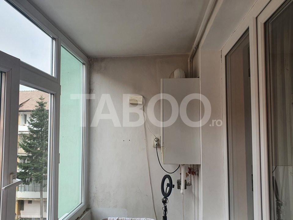 Apartament de inchiriat 2 camere 2 balcoane zona Mihai Viteazu Sibiu 12