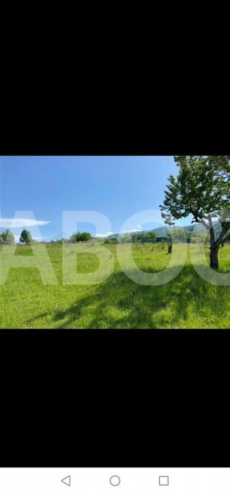 De vanzare teren 1001 mp cu PUZ zona Cisnadie Sibiu 1