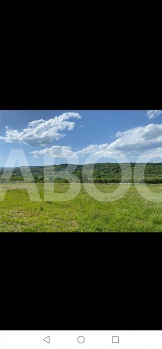 De vanzare teren 1001 mp cu PUZ zona Cisnadie Sibiu 2