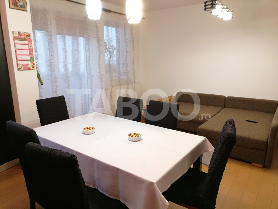 Apartament de vanzare 52 mpu 2 camere balcon in Sibiu Selimbar 4