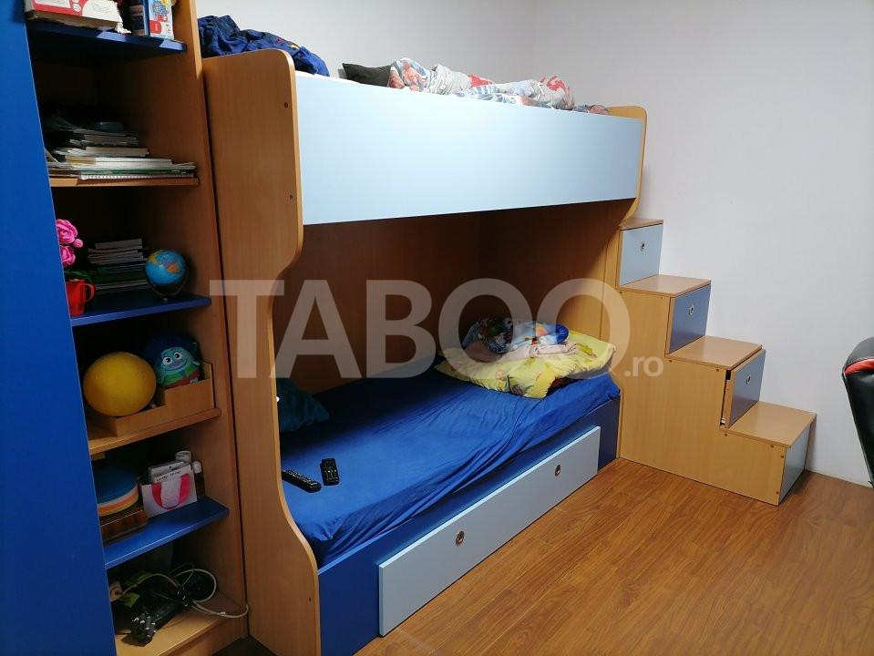 Apartament de vanzare 52 mpu 2 camere balcon in Sibiu Selimbar 9