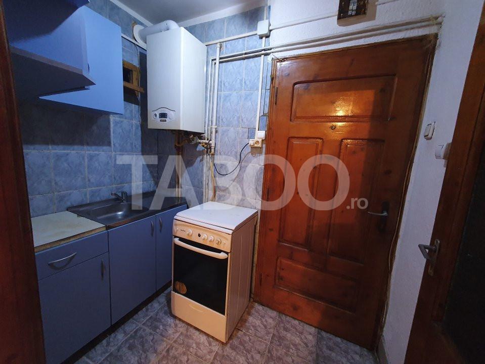 Garsoniera de vanzare bloc izolat termic in zona Lazaret Sibiu 4