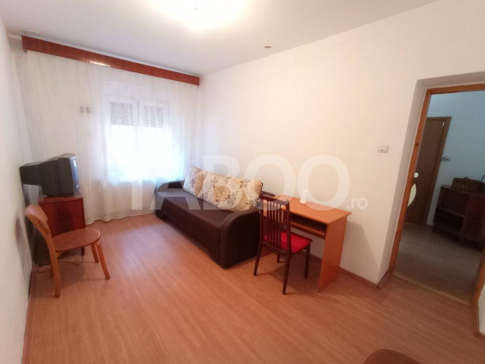 Apartament 2 camere mobilat utilat la casa de inchiriat Sibiu Central 9