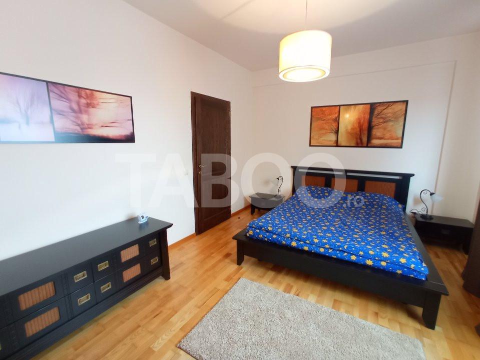 Apartament de inchiriat 3 camere spatios mobilat utilat Central Sibiu 2