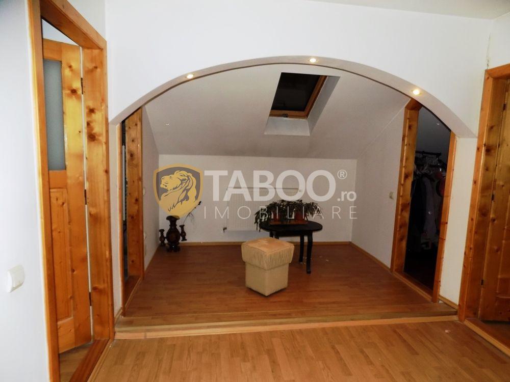 Apartament modern la vila cu 5 camere si 2 bai in Sibiu zona Strand 15