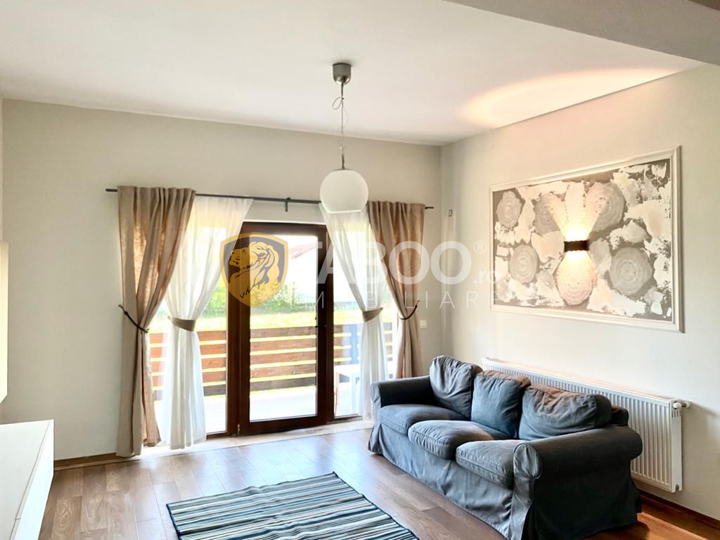 Apartament modern cu 3 camere la vila de inchiriat in Selimbar Sibiu 1