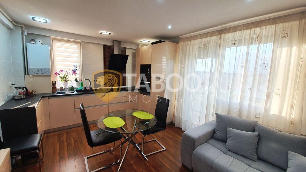 Apartament deosebit cu 3 camere decomandate de vanzare Sibiu Turnisor 1