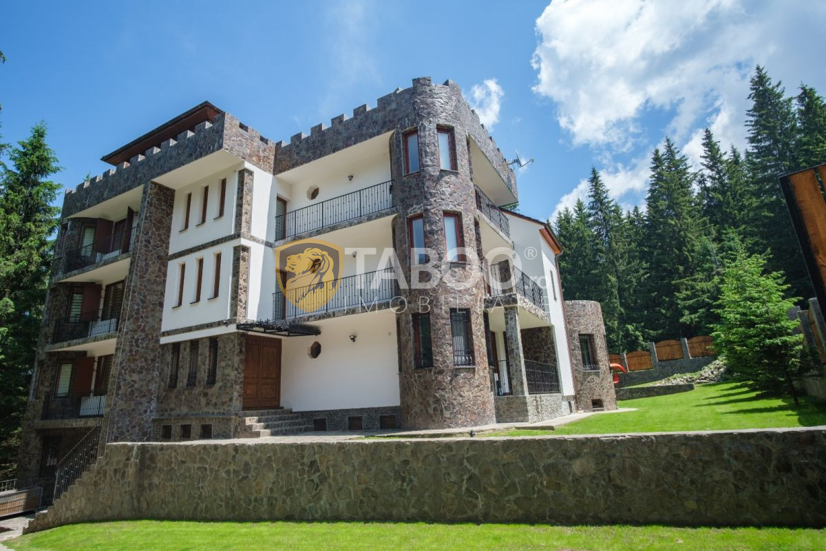 Castel de vanzare cu piscina interioara si 2700 mp teren in Paltinis 1