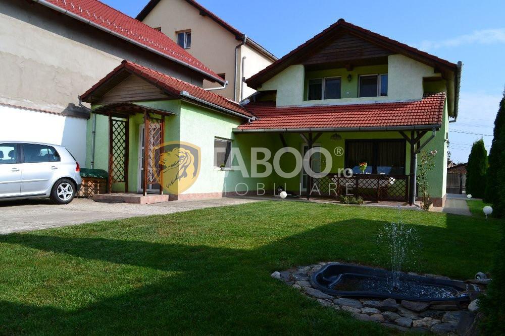 Casa individuala de vanzare 5 camere si curte libera 350 mp Selimbar 1