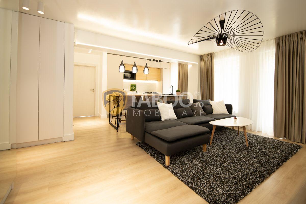 Apartament 3 camere ultra modern cu piscina comuna incalzita in Sibiu 1