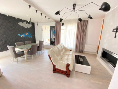 Penthouse modern de vanzare mobilat si utilat 116 mp utili in Sibiu
