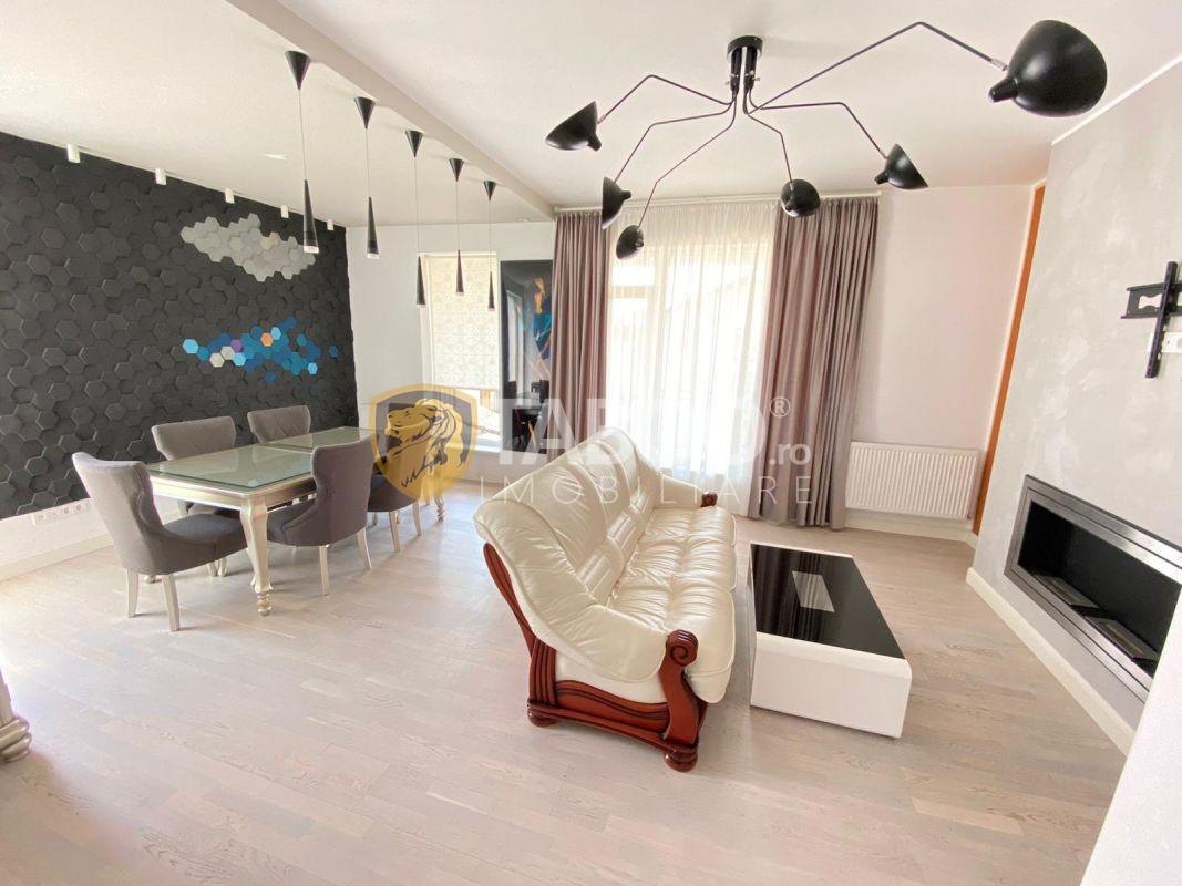 Penthouse modern de vanzare mobilat si utilat 116 mp utili in Sibiu 1