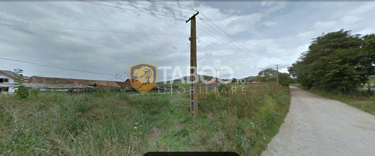 Teren intravila 7700 mp de vanzare zona Gusterita Sibiu 1