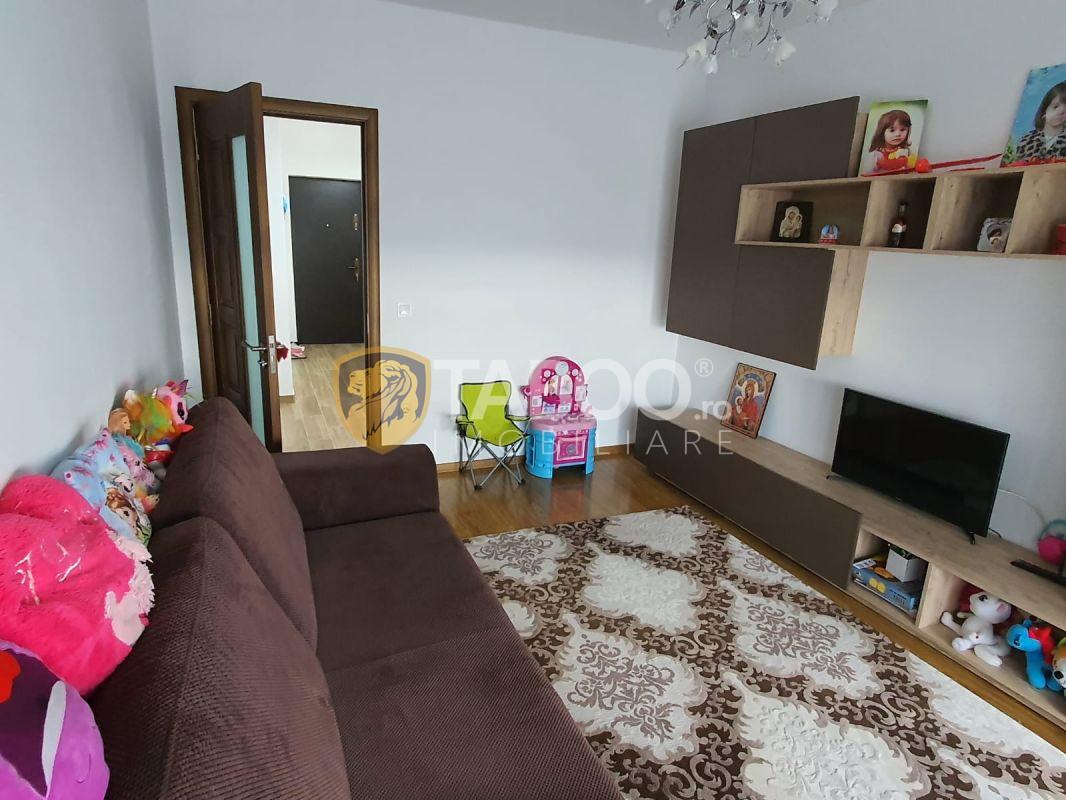 Apartament decomandat la parter cu 3 camere in Sibiu zona Turnisor 2