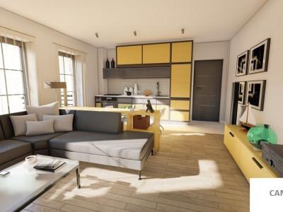 Garsoniera confort 1 cu balcon de vanzare in Sibiu comision 0%