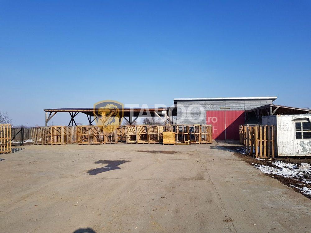 Spatiu industrial de vanzare 1750 mp in Sebes judetul Alba 1