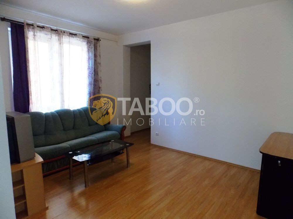 Apartament de inchiriat cu 3 camere si 2 bai in Sibiu zona Strand 3