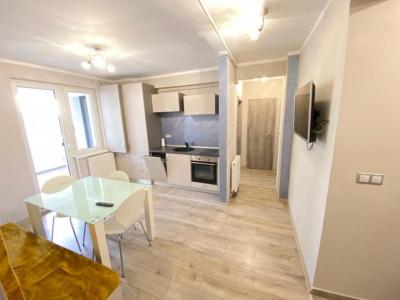 Apartament modern 3 camere cu terasa de inchiriat Sibiu Mihai Viteazu