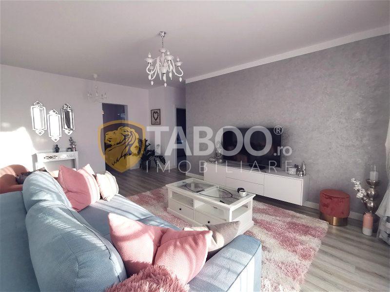 Apartament de vanzare 3 camere si terasa de vanzare in Selimbar Sibiu 1