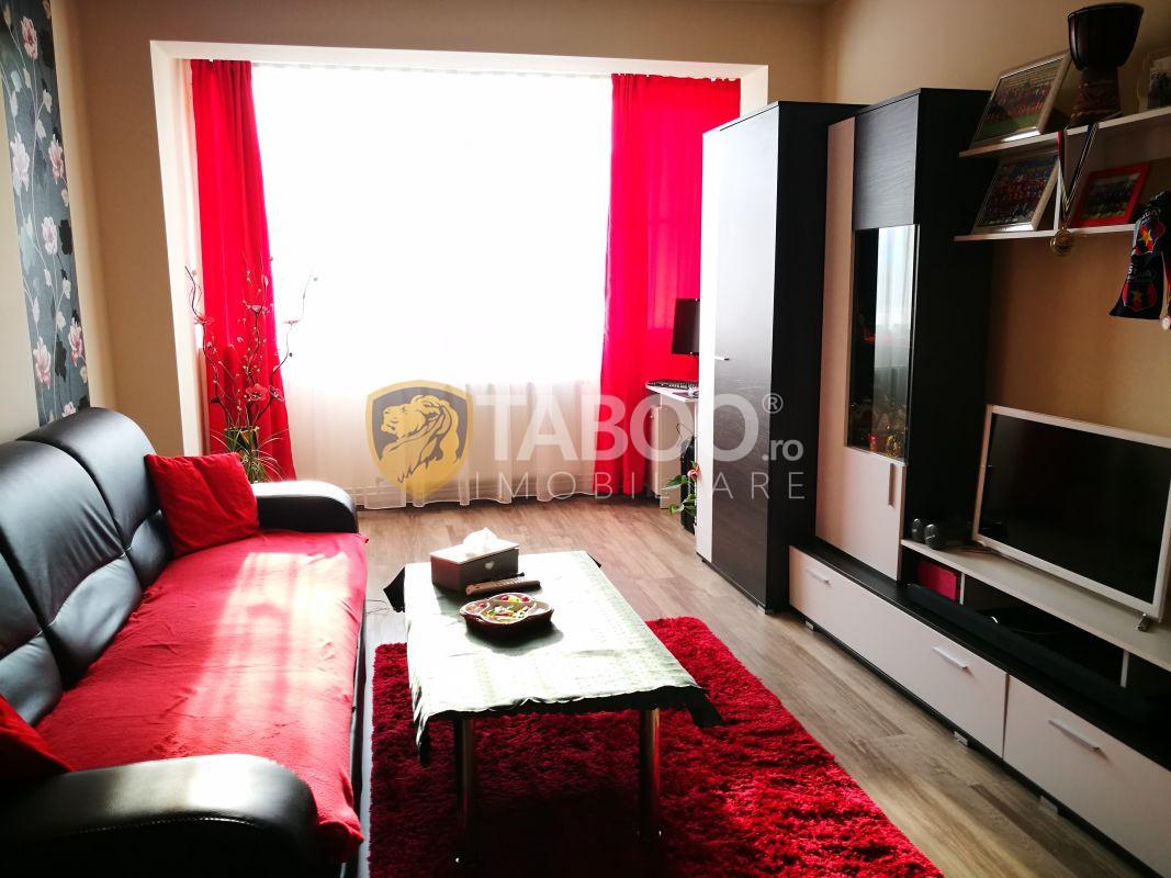 Apartament cu 2 camere si balcon complet mobilat si utilat zona Siretului 1