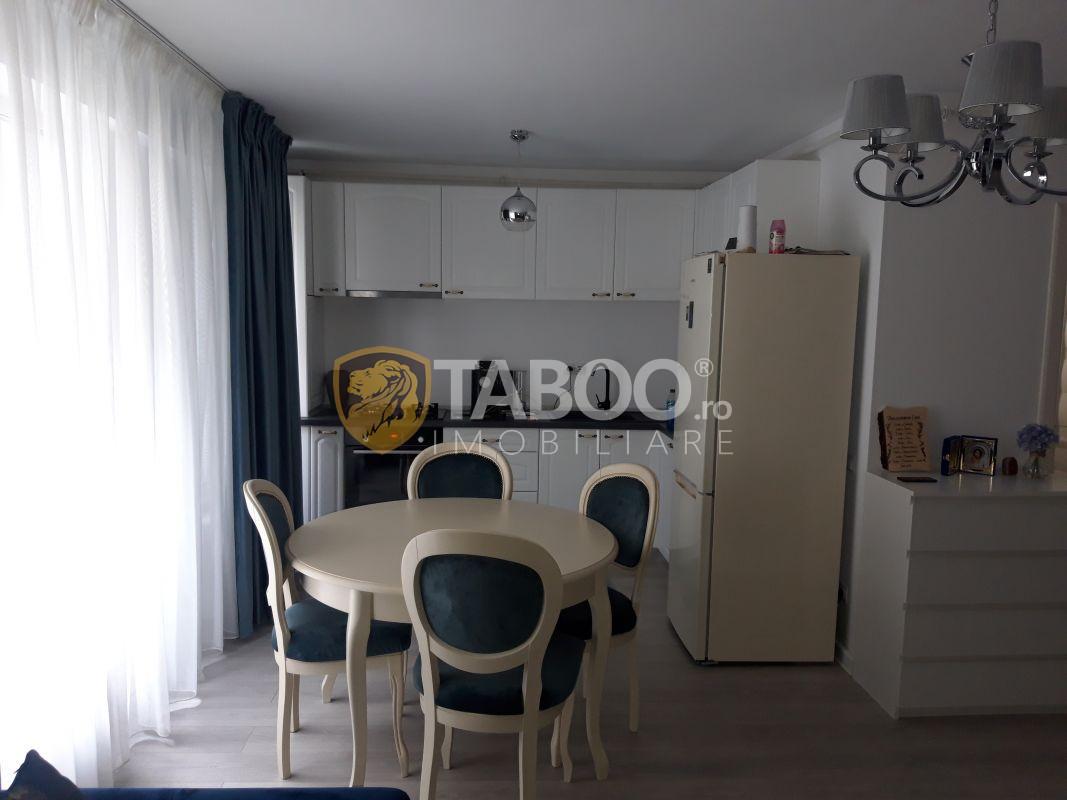 Apartament 2 camere modern cu piscina comuna incalzita in Sibiu 1