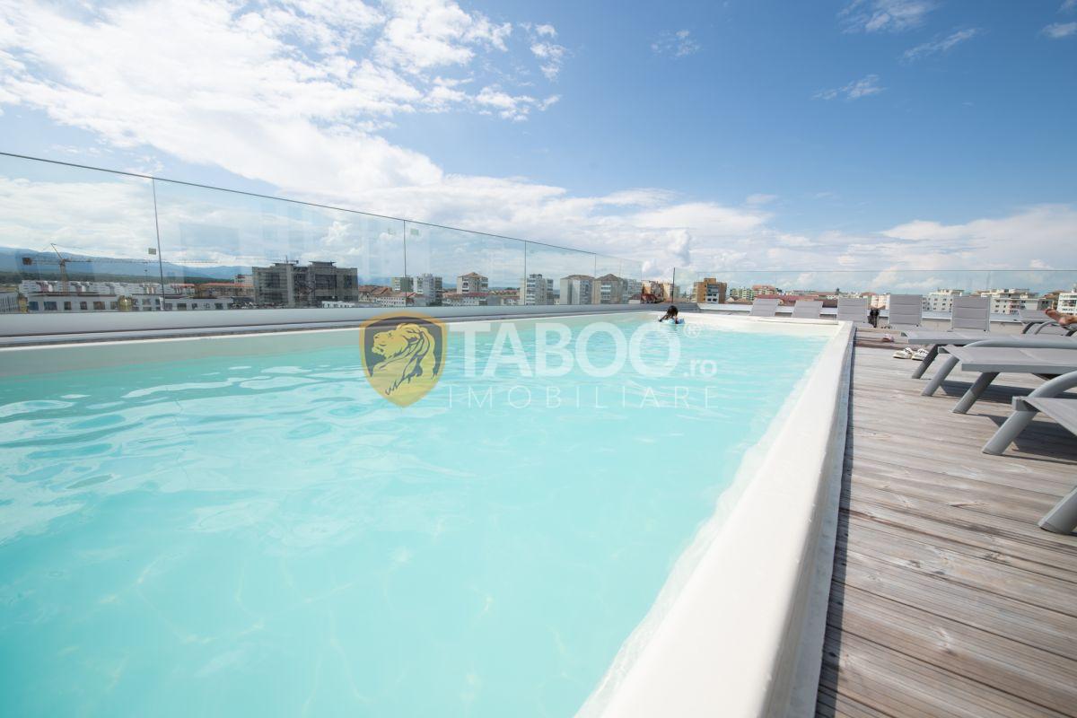 Apartament 2 camere modern cu piscina comuna incalzita in Sibiu 7