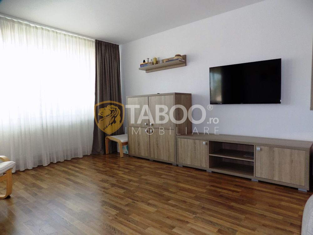 Apartament modern la vila cu 3 camere 2 bai si balcon zona Turnisor 3