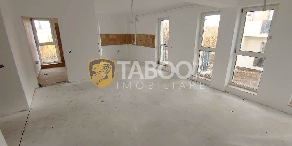 Apartament cu 4 camere decomandate de vanzare in Sibiu zona Turnisor 1