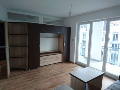 Apartament 2 camere etaj 3 mobilat si utilat City Residence in Sibiu
